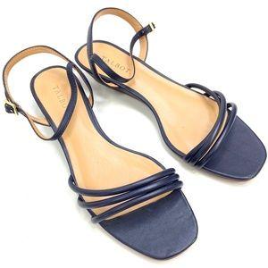 Talbots | Leather Navy Blue Sandal